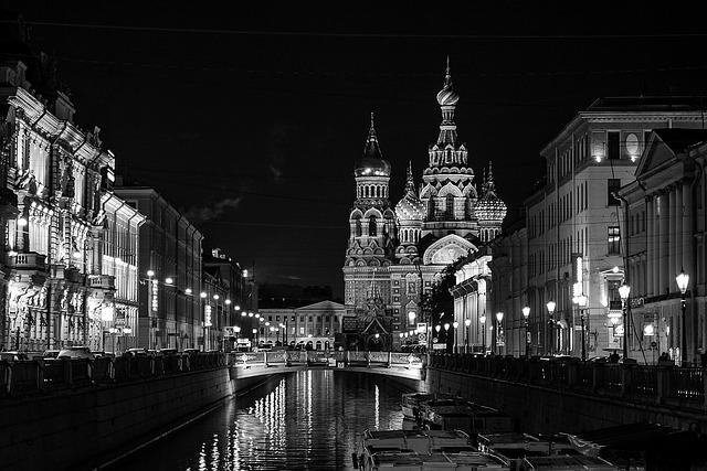 město Petersburg