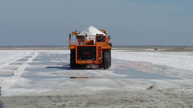 přeprava soli