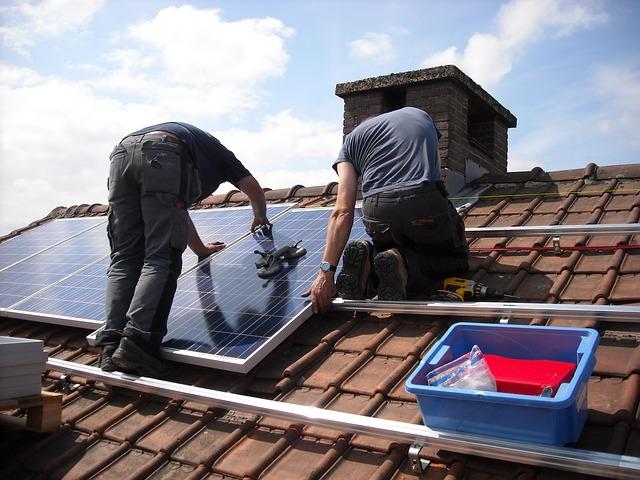 instalace panelů