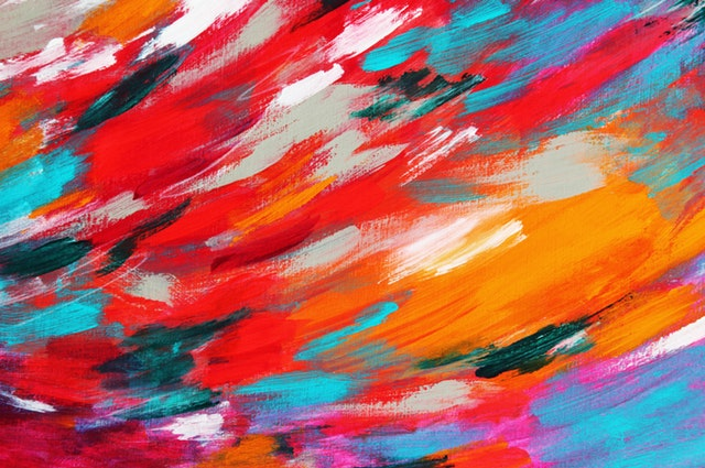 barvy, barevná zeď